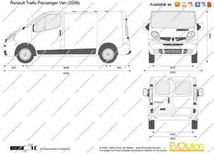 Renault Trafic Dimensions The Blueprints Vector Drawing Renault Trafic
