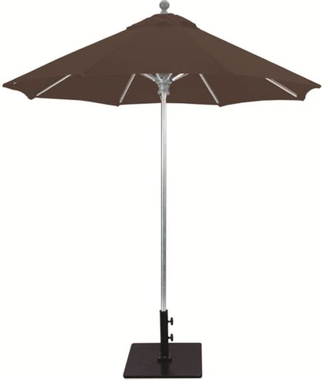 Industrial Patio Umbrellas 7 5 Aluminum Commercial Patio Umbrella