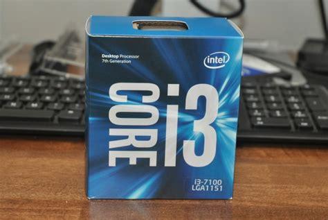 Intel I3 7100 3 9ghz intel i3 7100 kabylake linux benchmarks review phoronix