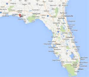 panama city florida on a map panama city florida usa 171 hotels