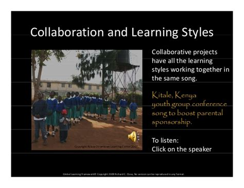Team Global Learning Outcome Mba by Learning Learning Styles Global Learning