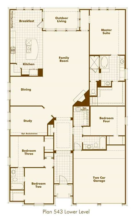 highland floor plan salisbury homes model home in dallas fort worth texas windsong ranch