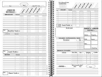printable food log bodybuilding memoryminder journals dietminder at bodybuilding com best