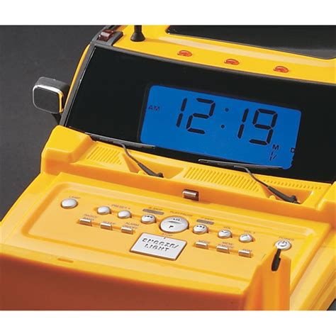 hummer 174 clock radio cd player 49613 at sportsman s guide