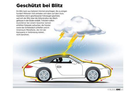 Blitzeinschlag Auto by Ratgeber Gewitter Im Auto Magazin Auto De