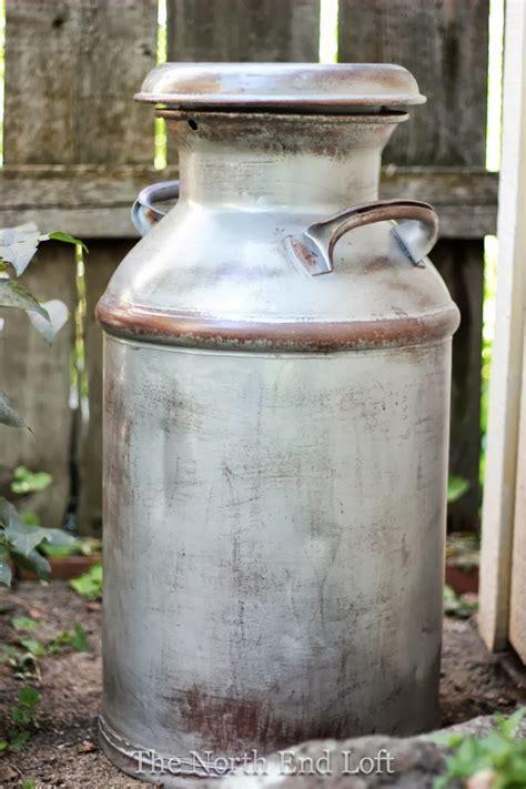 The North End Loft: Rustic Wedding Milk Can Decor