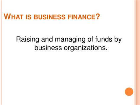 What Is Finance Management In Mba by Financial Managemet Mba Lect 1