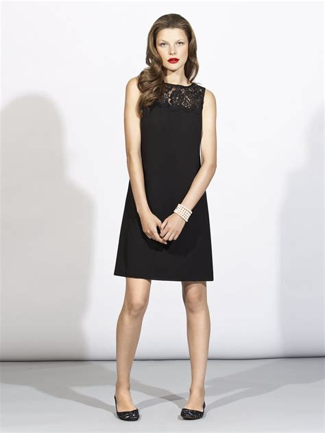 black lace bridesmaid dress with knee length   iPunya