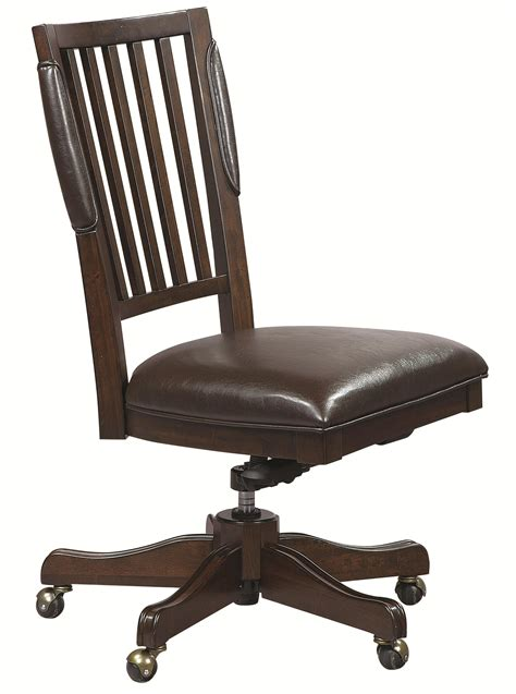 aspenhome office furniture aspenhome essex office chair with leather seat boulevard