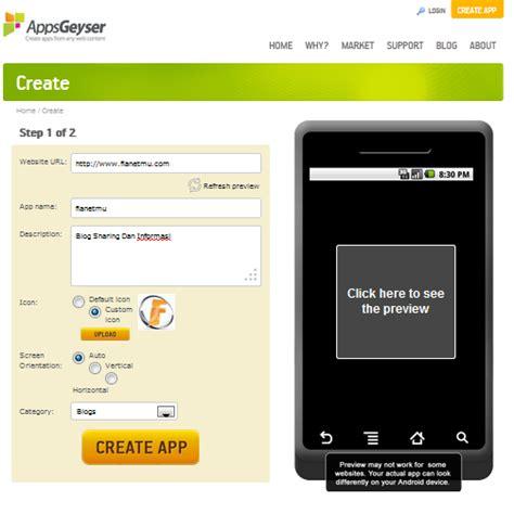 membuat aplikasi blog membuat aplikasi android untuk blog atau web 1xdeui