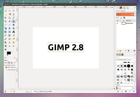 tutorial the gimp 2 8 gimp 2 8 stable finally available for download