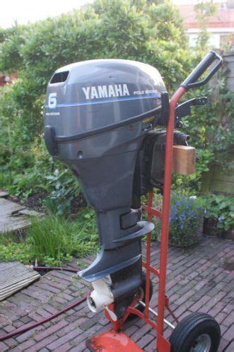 buitenboordmotor yamaha 4 pk yamaha 6 pk 4 takt kortstaart buitenboordmotor