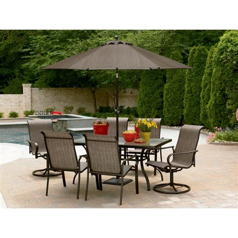 outdoor dining patio sets 7 pc outdoor dining set 231 99 mybargainbuddy