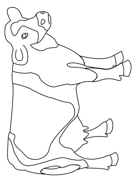 Coloriage La vache - Momes.net