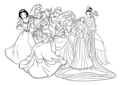 dibujos para pintar de princesas para imprimir imagui dibujos de princesas disney para colorear e imprimir gratis