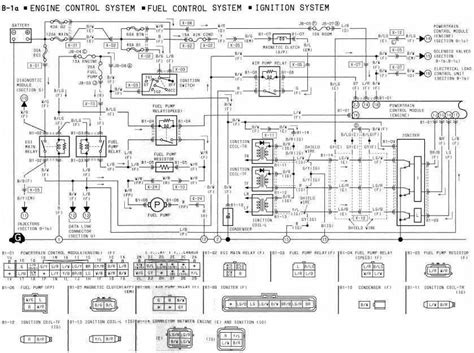 mazda ignition coil wiring diagram 28 images 1991