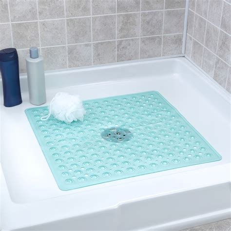 square shower mat non slip square floor shower mat