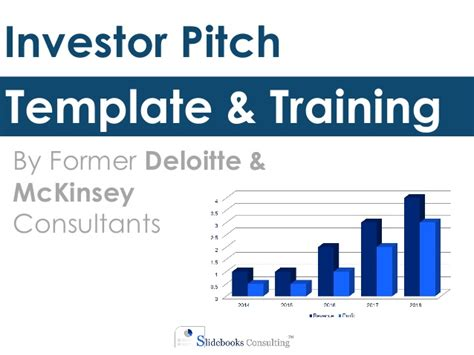 Investor Pitch Template By Ex Deloitte Mckinsey Consultants Investor Pitch Template