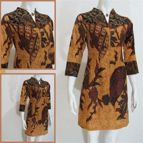 dress batik solo modern db toko   kota solo