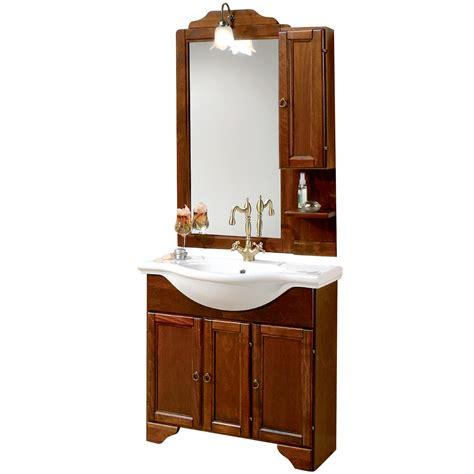 www bagno italia it mobile arredo bagno cm 85 arte povera lavabo integrale