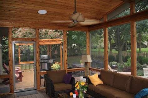 Enclosed Porch Plans by Leawood Ks Porches Sunrooms And Decks
