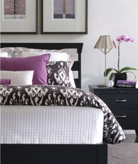 black white and purple bedroom 27 best images about interior decorating dreams on