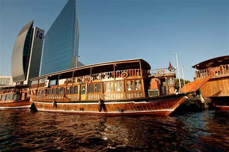 boat cruise in dubai dhow cruise dinner in creek dubai adventures tours and
