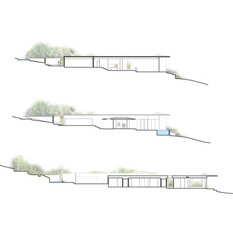 Hanging Gardens Ubud office cascading creek house design by bercy chen studio