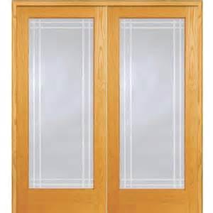 Prehung Double Doors Interior Milliken Millwork 60 In X 80 In Classic Clear Perimeter