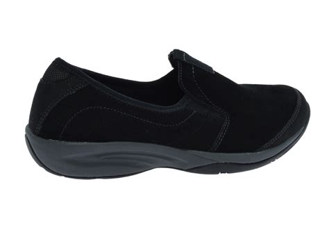 easy spirit langston womens size 8 5 black loafers