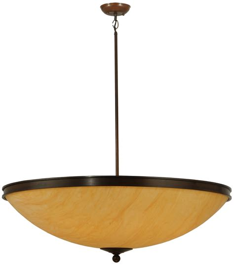 Inverted Bowl Pendant Lighting Meyda 121756 Dionne Inverted Bowl Pendant