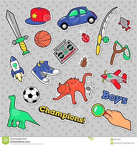theme song z cars fashion badges patches stickers boys theme toys sports