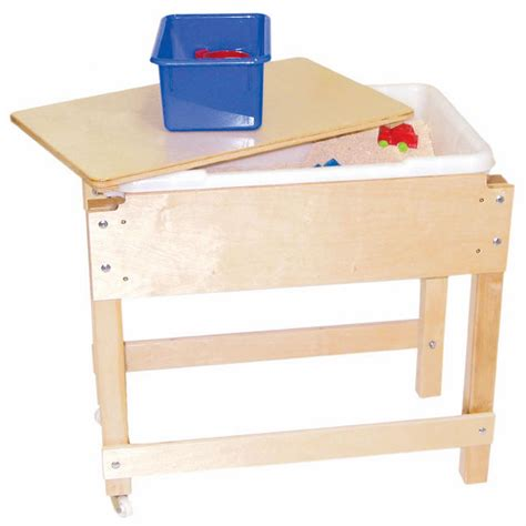 sand and water table with lid sand water sensory table with lid shelf