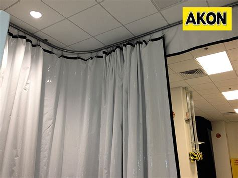 akon curtains akon industrial curtain track garage divider curtains
