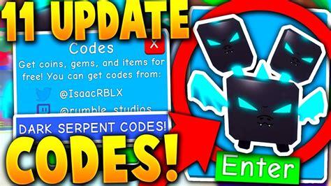 secret  legendary serpent update codes  bubble