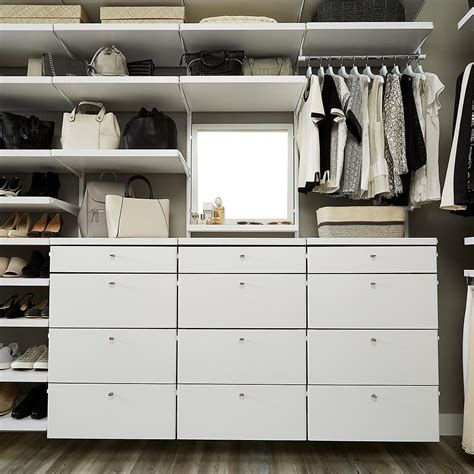 Container Store Closet Sale by White Elfa D 233 Cor Drawer Frames Fronts The Container Store