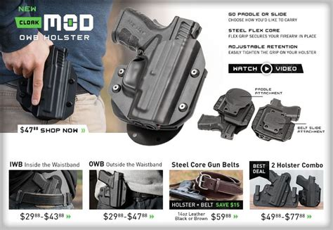 comfortable concealed carry holsters alien gear holsters the most comfortable and concealable