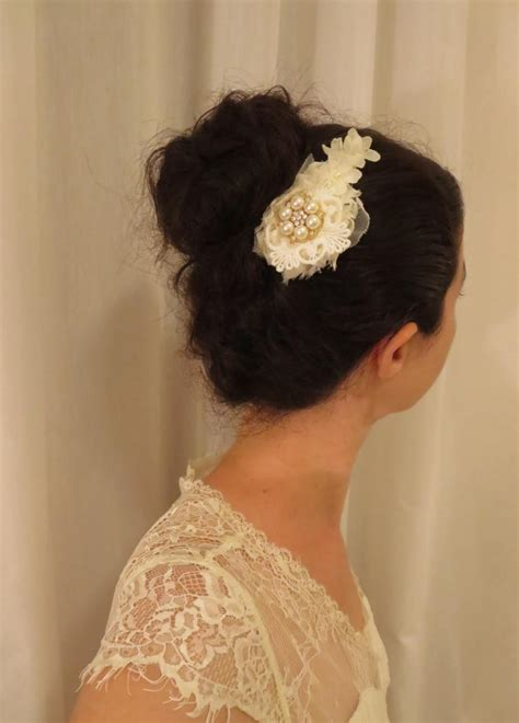 Wedding Hair Accessories Lace by Lace Hair Comb Floral Bridal Hair Pin Wedding Hair