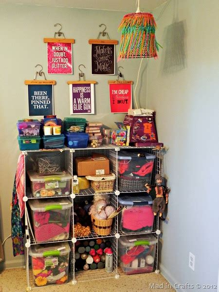 Make A Craft Room The Mad Cropper by Mad In Crafts A Diy Craft Room Mad In Crafts