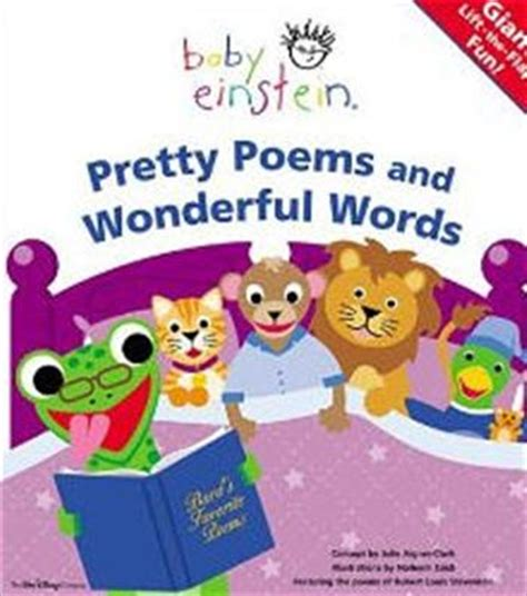 Baby Einstein Lift Flap Soundbook baby einstein pretty poems and wonderful words lift the