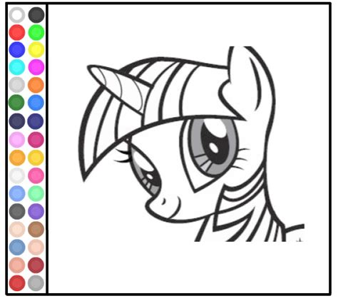 my little pony games coloring pages in color download my little pony coloring pages games