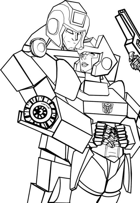 ironhide transformers pages coloring pages