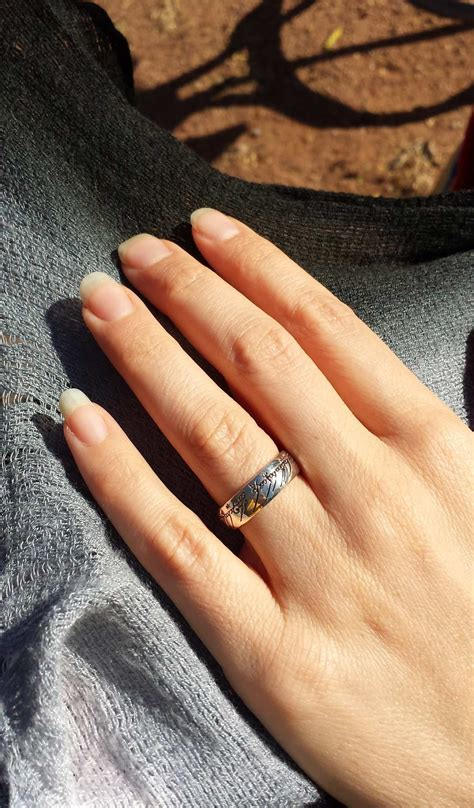 official sterling silver one ring from lord of the rings