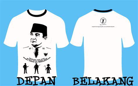 Kaos Ir Soekarno 2 ayoooo tumpahkan inspirasimu っ っ contoh desain