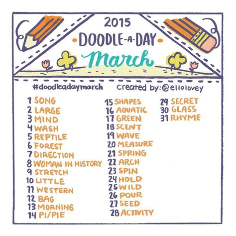 doodle challenge ideas 1000 ideas about march photo challenge on