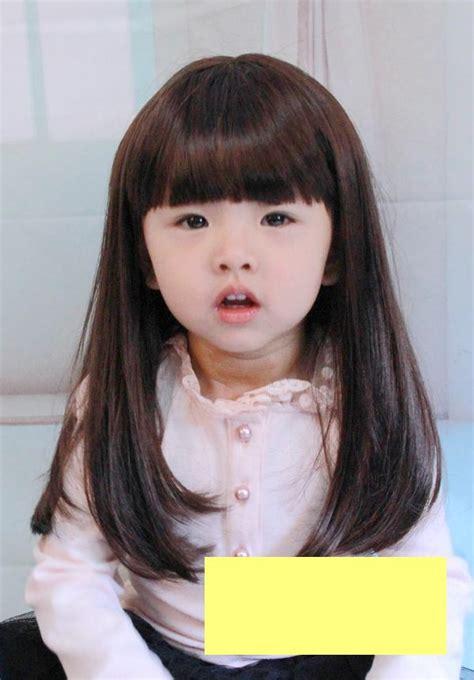 Jual Rambut Palsu Anak jual wig for rambut palsu anak panjang model lurus pombom babynkids