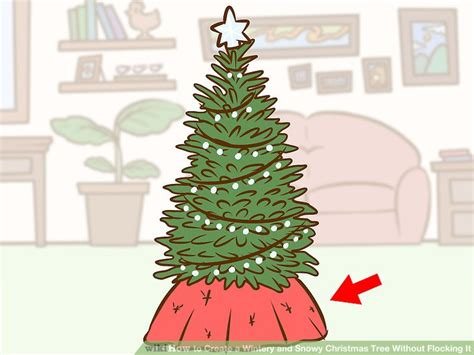 how long christmas tree without water how to create a wintery and snowy tree without flocking it