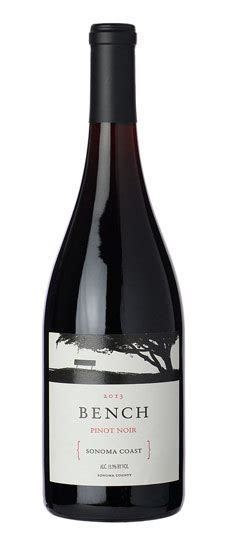 bench pinot noir 2011 bench pinot noir sonoma coast 2013 pearson s wine