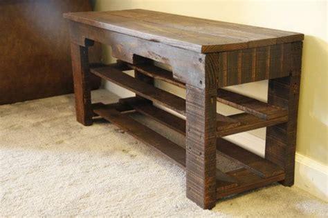 diy shoe rack bench pallet shoe rack bench pallet shoe rack by