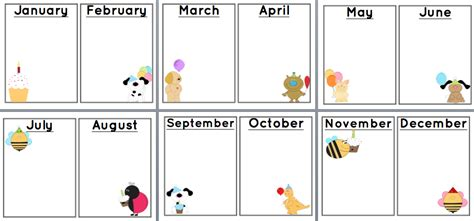 printable birthday chart template search results for free printable birthday charts